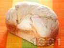 Рецепта Хляб по стара рецепта в машината за хляб (домашна хлебопекарна)